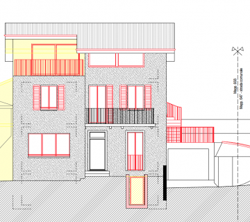 205 New 5.5-room semi-detached house in Capriasca-Oggio